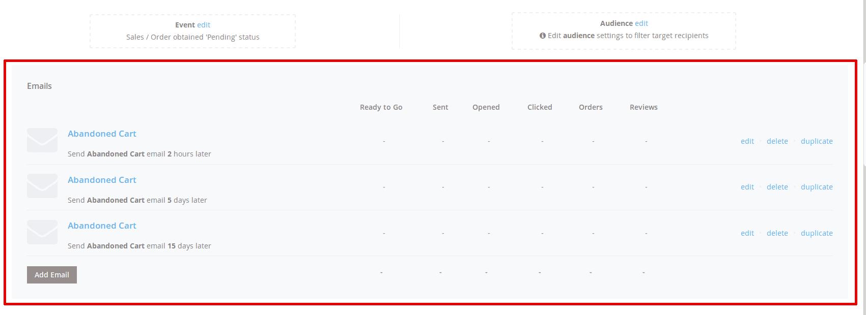 Email Chain Pane