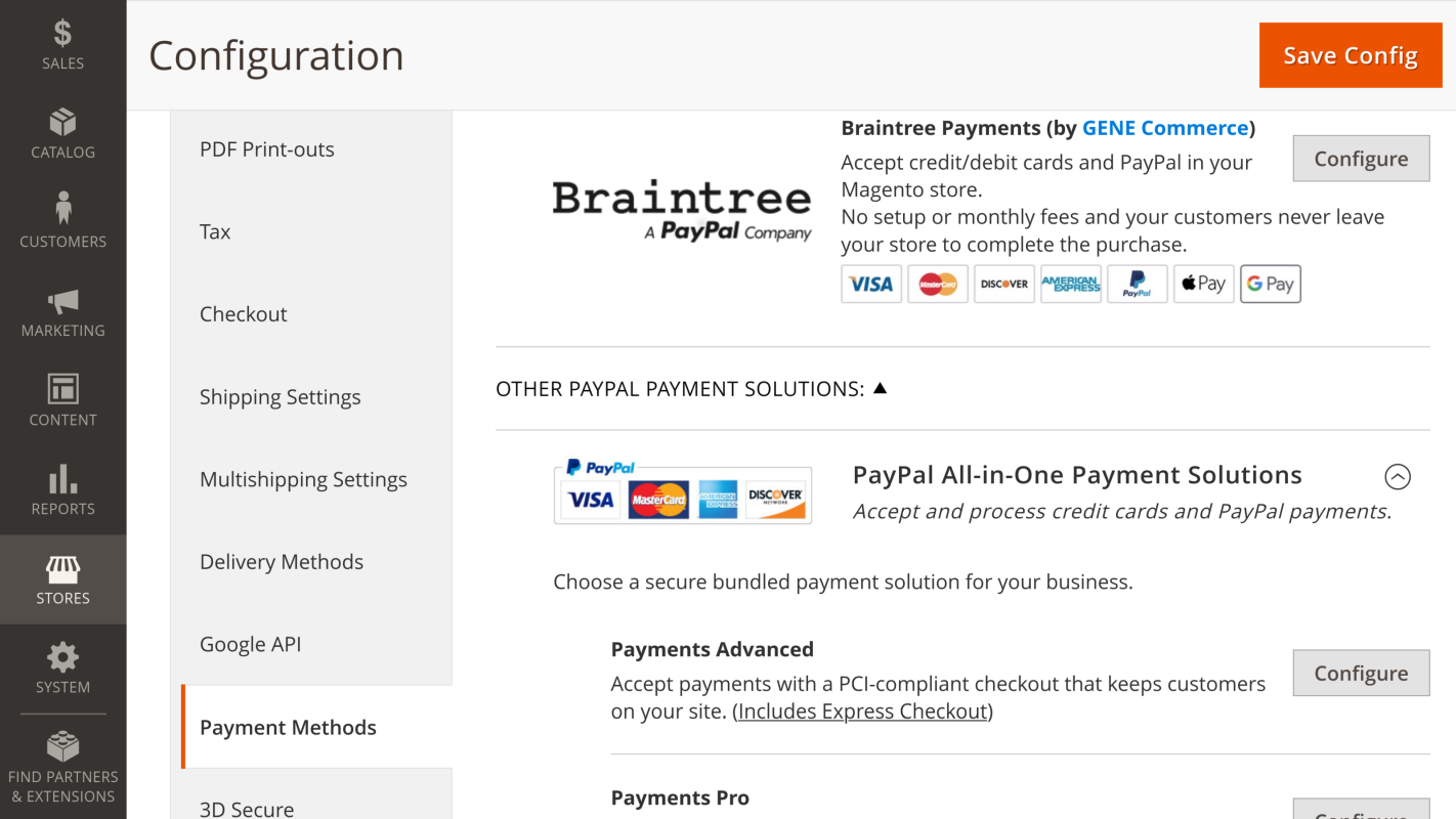 Configured Payment
