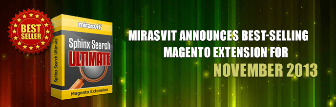Mirasvit Announces Best-Selling Magento Extension for November 2013