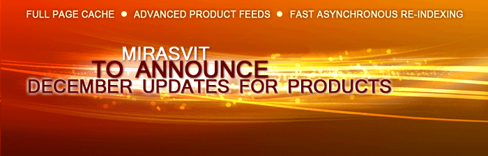 Mirasvit to announce December updates for products