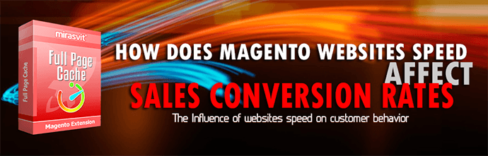 How does Magento websites speed affect sales conversion rates