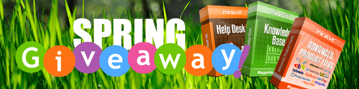 Mirasvit Giveaway - Win any Magento extension in our store for Free!