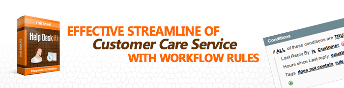 Effective Streamline of Customer Care Service with Workflow Rules