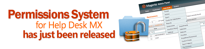 Permissions system for Help Desk MX