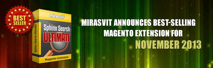 Mirasvit Announces Best-Selling Magento Extension for November 2013
