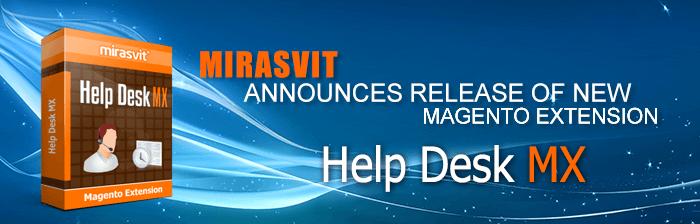 Help Desk MX Magento extension has just been released!