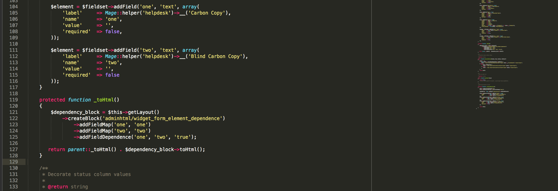 Dynamic show/hide data fields in Magento