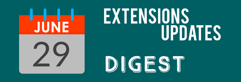 Mirasvit Extensions Update Digest 29.06