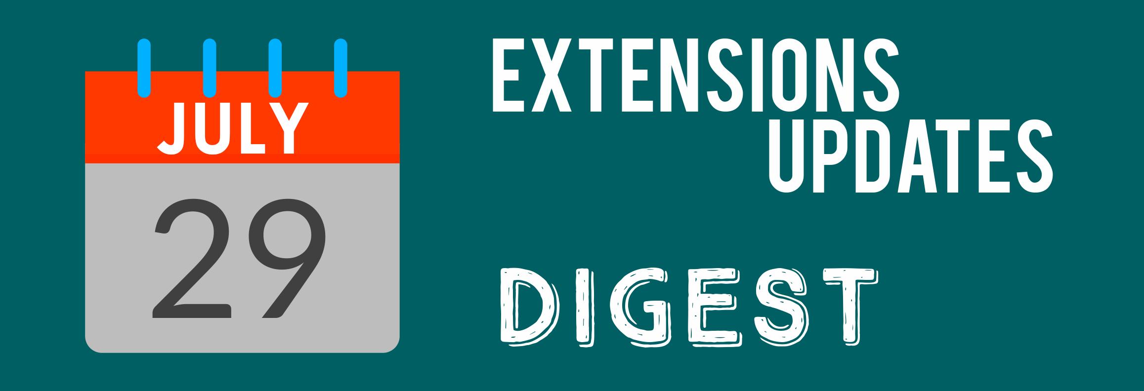 Mirasvit Extensions Update Digest July