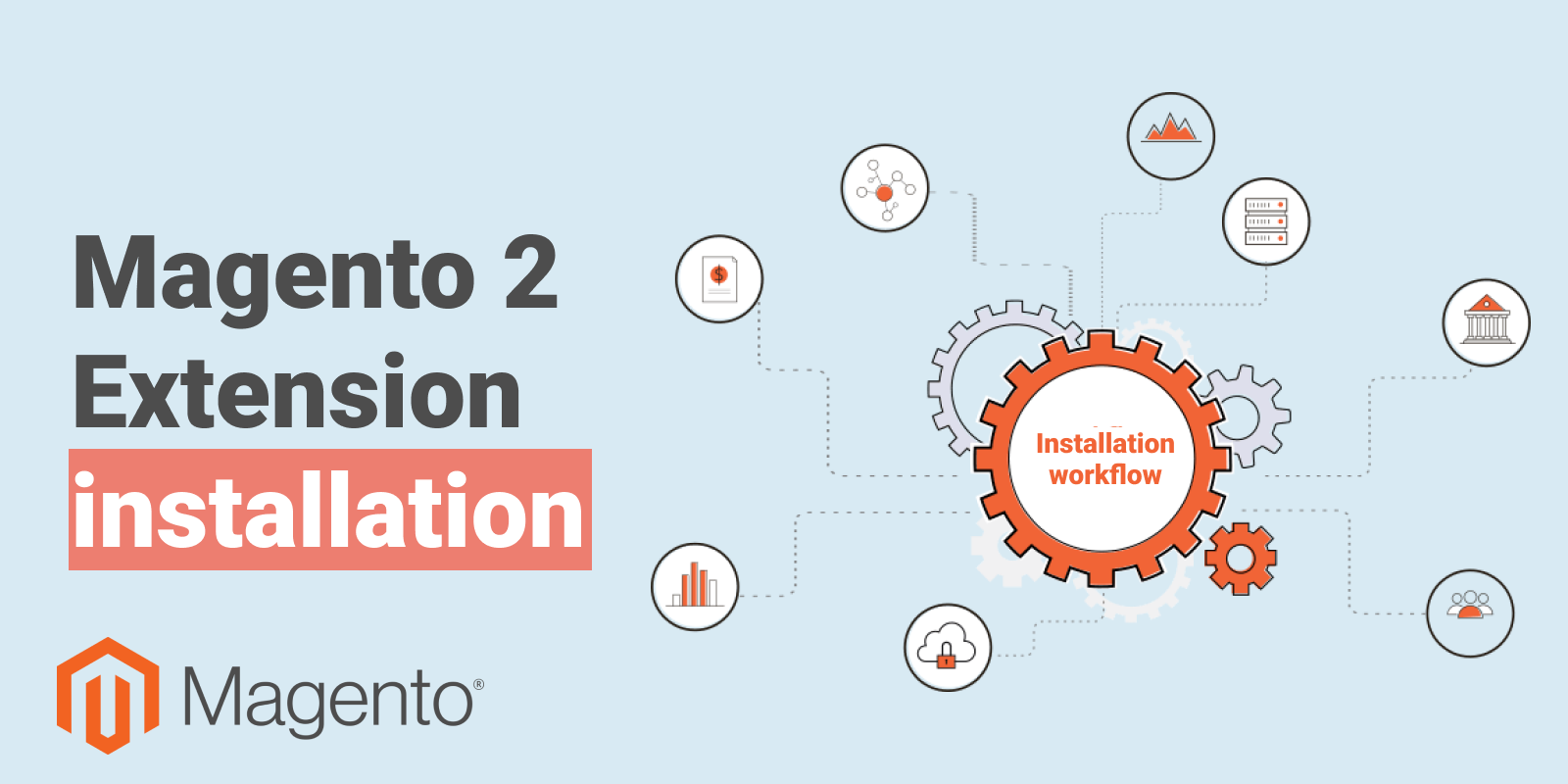 Change vital parts of your e-shop: how to install extension in Magento 2 store