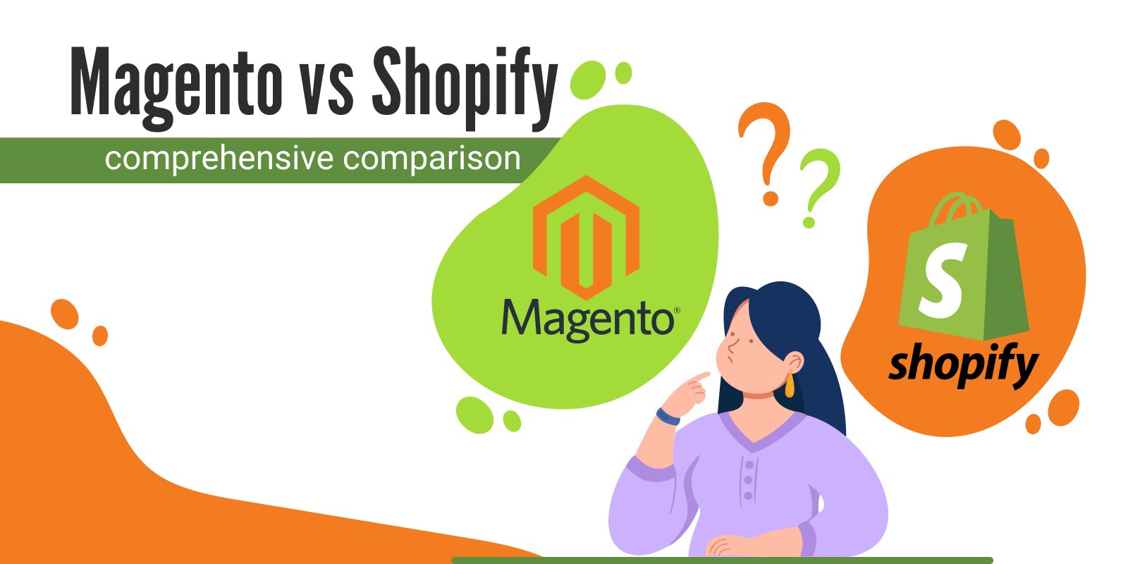 Magento and Shopify - the differences of these eCommerce platforms in 2021
