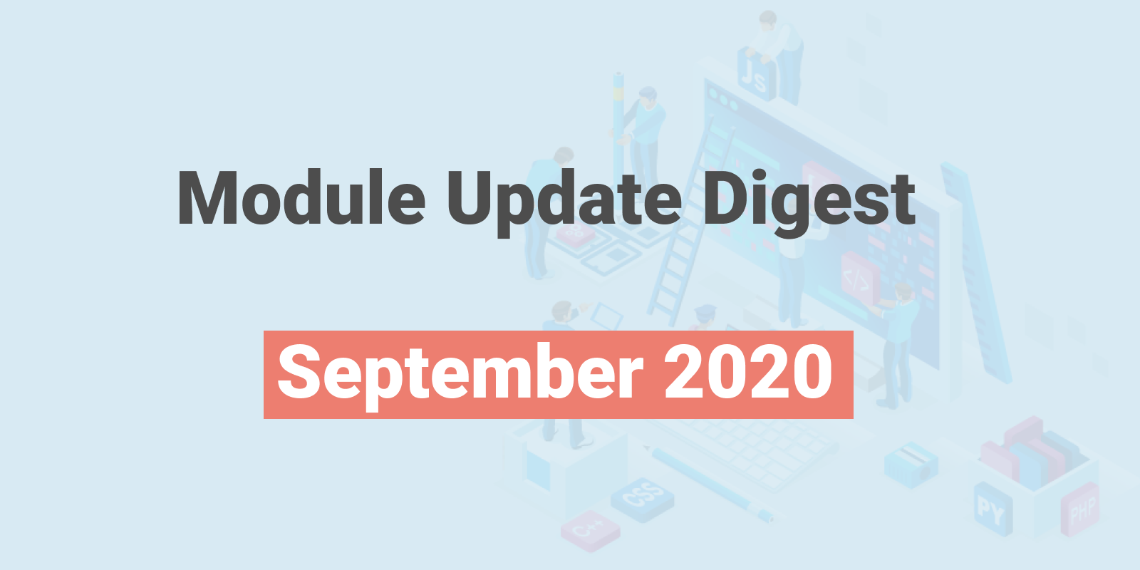 Module Update Digest: September 2020