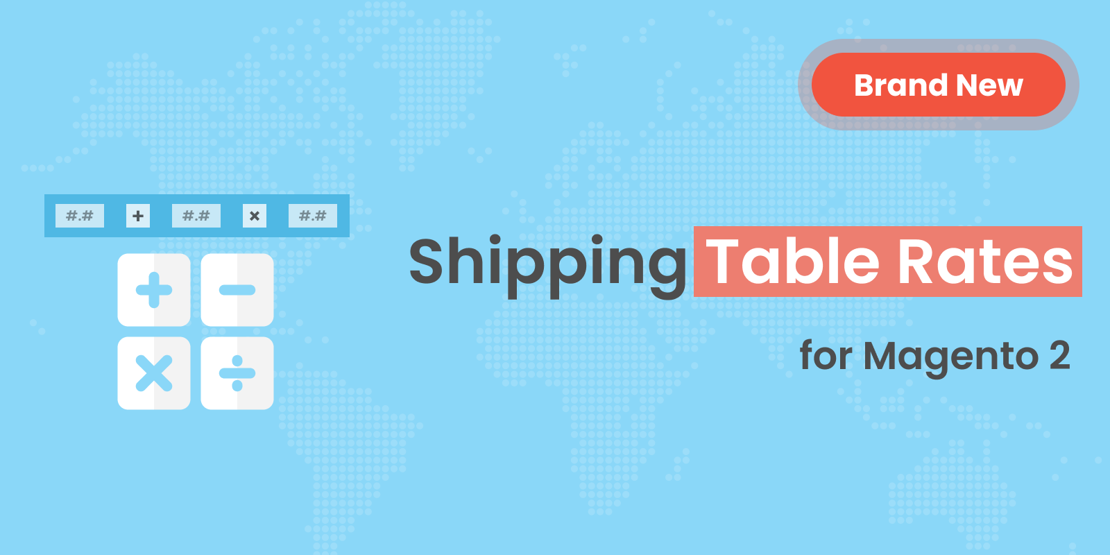 New Module: Magento 2 Shipping Table Rates