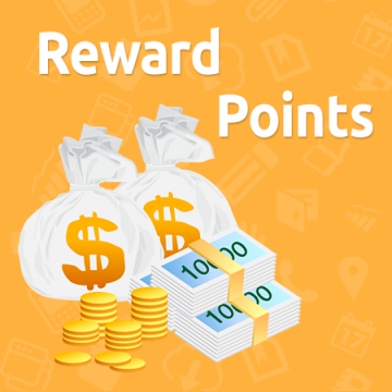 Reward Points + Referral program
