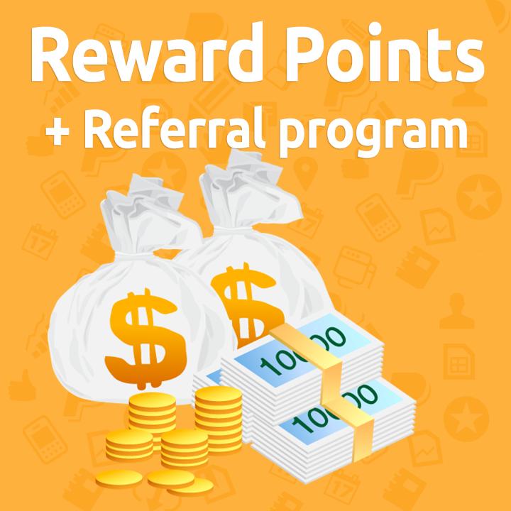 Reward Points + Referral program for Magento 2