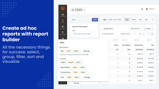 report builder advanced reports