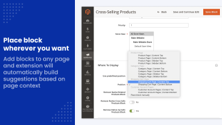 magento related products module