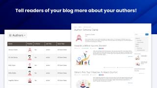 Blog authors