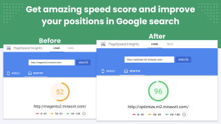 Google PageSpeed Optimizer - Compare Google Page Speed score
