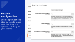 Simple extension configuration