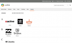 Improved layered navigation for Magento 2. Shop by brand.