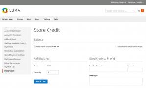 Store Credit & Refund