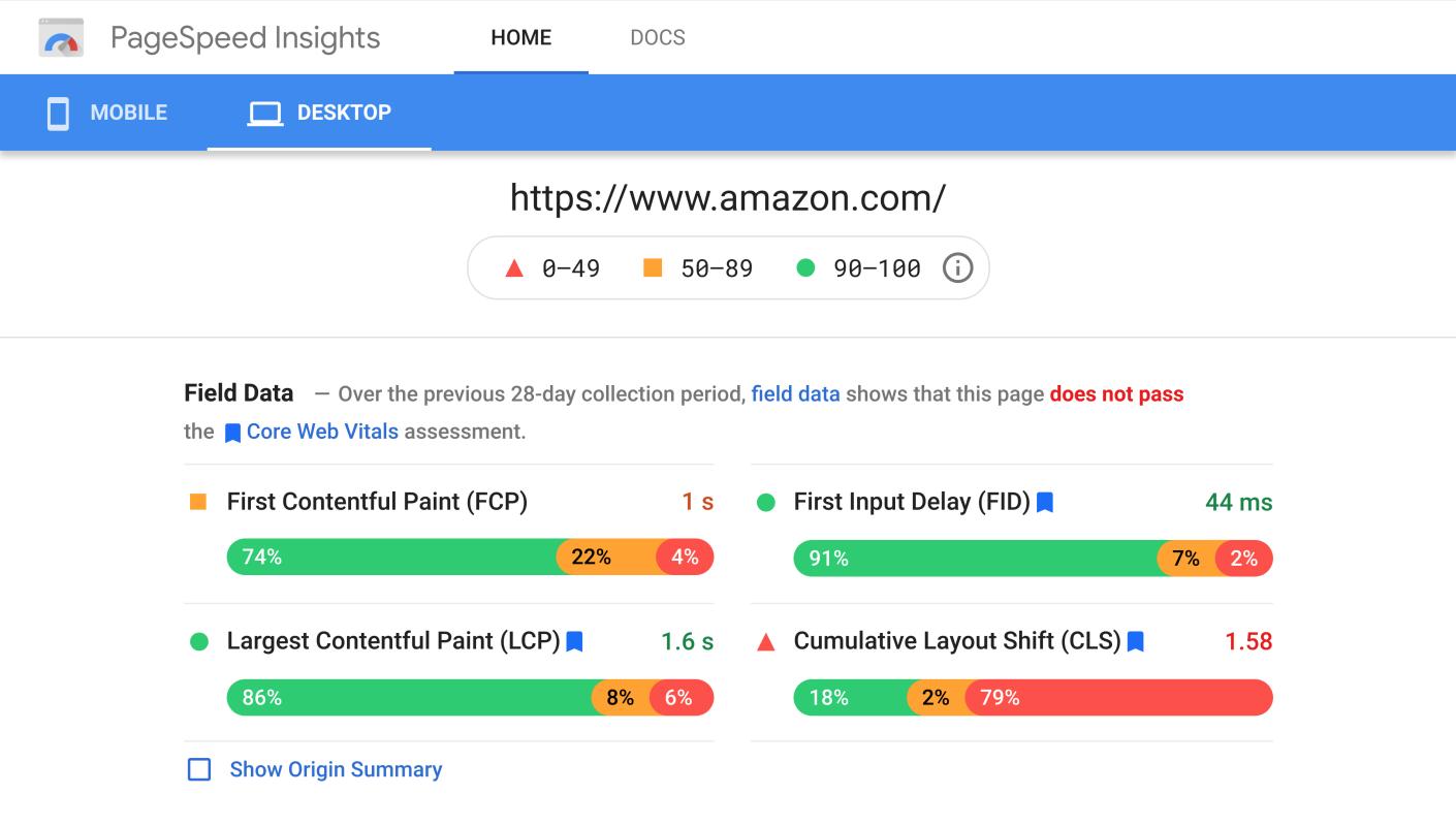 amazon-core-web-vitals-fail-desktop