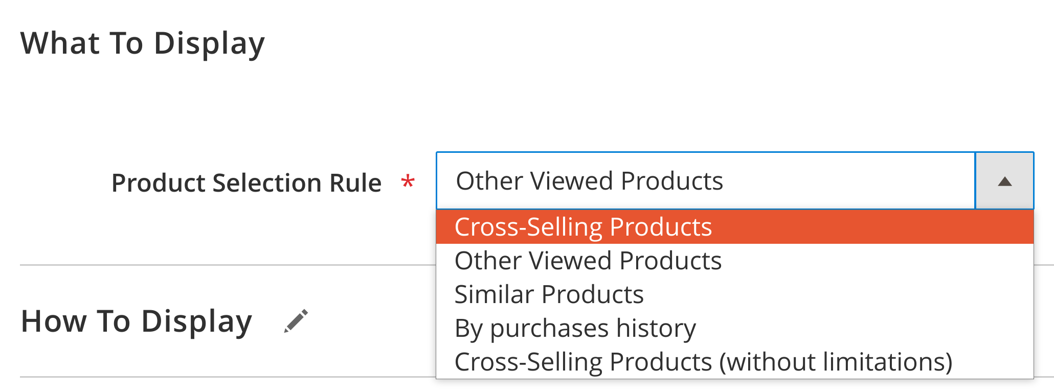 related product magento 2